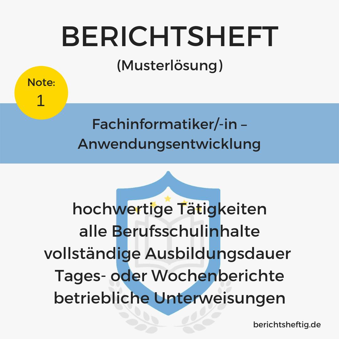 Fachinformatiker/-in – Anwendungsentwicklung