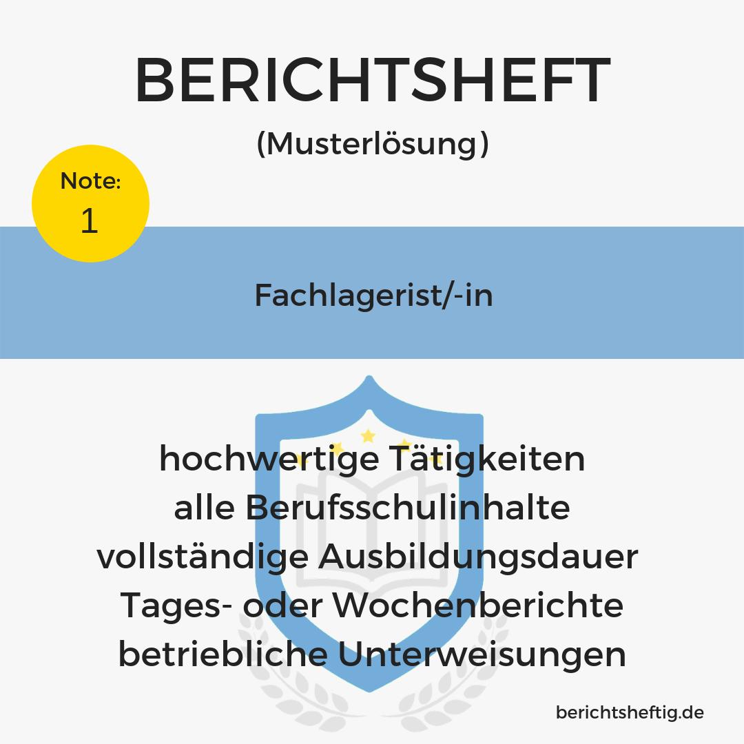 Fachlagerist/-in
