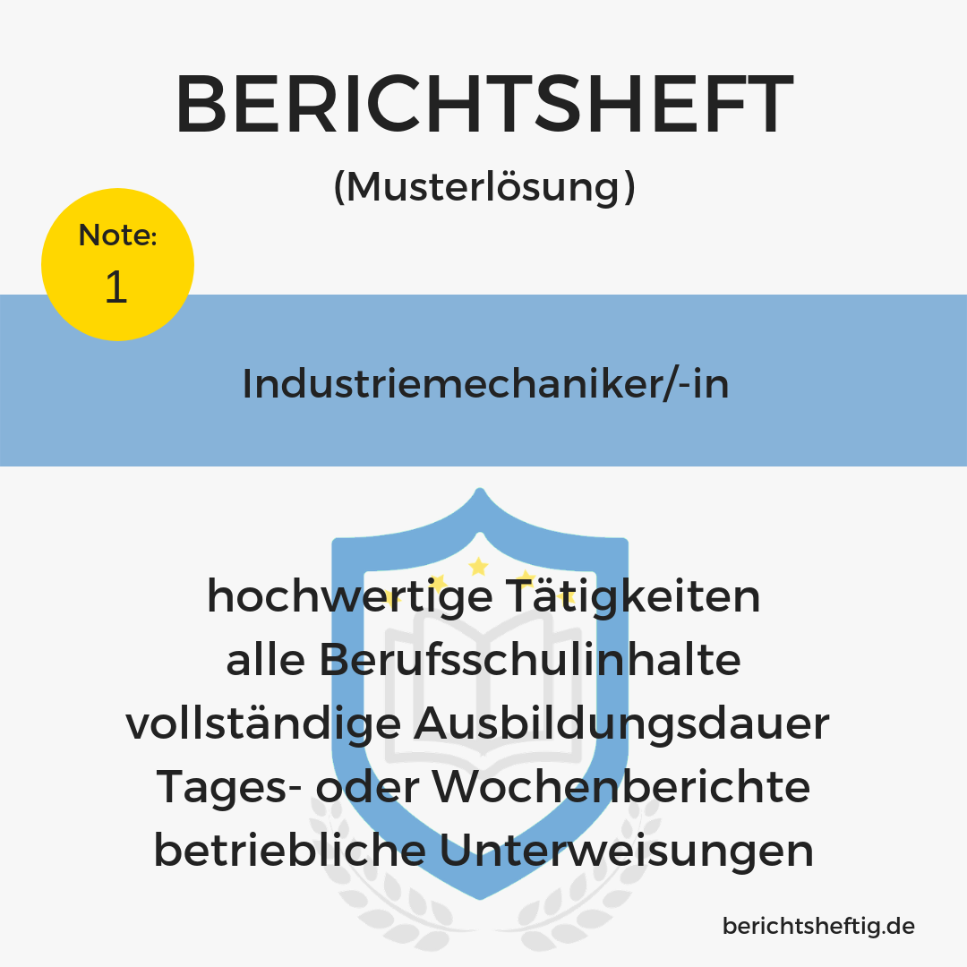 Industriemechaniker/-in