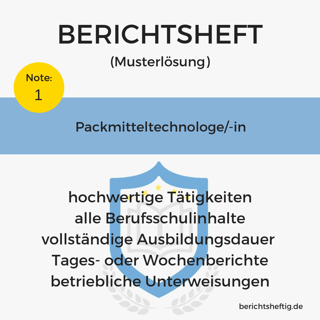 Packmitteltechnologe/-in